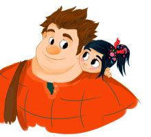 Wreck it Ralph with color by BoLdBoNes