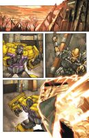 Ultra Magnus Comic page 1 by kieranoats