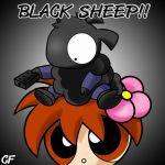 Whoa BLACK SHEEP by Coffgirl