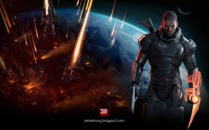 Mass Effect 3 Wallpaper by jebelkrong