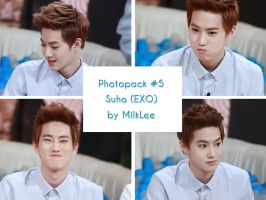 Photopack #5 Suho (EXO) by MilkLee by MilkLee