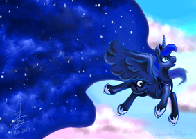 Moon Streak by Chirpy-chi