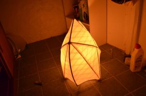 The Shining City - paper lantern 02 by Plysse