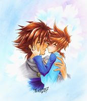 KH: Love you, Dad by RoXas-1988