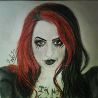 Ash Costello New Years Day by Severinax