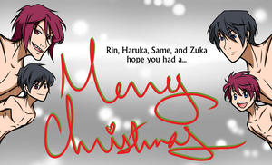 RinHaru - Merry Christmas by Fayolinn