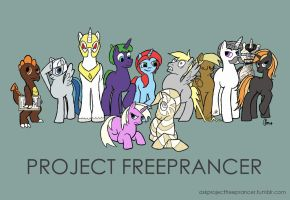 Project Freeprancer: Mane Cast (WIP) by alphabetsoup314