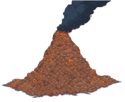 Volcano WIP by mjco