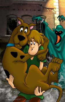 scooby doo and shaggy too by goaly31