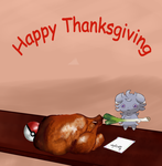 A Late Thanksgiving Greeting. by Mr-Bangala