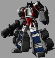 My optimus prime by Blitz-Wing