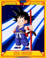 DB-Kid Goku V3 by el-maky-z