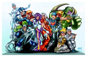 WildC.A.T.s COLOR by ALEROGER