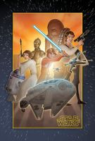 Star Wars Poster by wannabegeorge