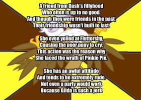 My Little Poetry: Gilda by snakeman1992