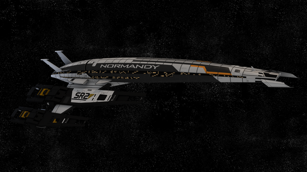 Mass Effect- SR2 Normandy by The--Moderator