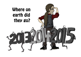 New Year 2016 by Jacob-R-Goulden