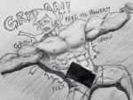 (9 muscle hunks) Muscle growth mist 4 by tera114