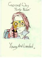 Gerard Way - Party Poison by Quackles93