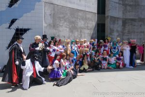 FanimeCon 2012 Sailor Moon Gathering Group Shot by Stormfalcon