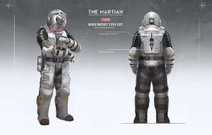 The Martian - EVA suit design by artofjokinen