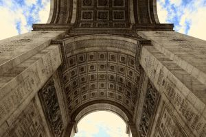 Arc de Triomphe - Detail 04 - Under the Arc by GiardQatar