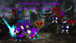 Future In Trouble Poster by LeonTheSnowWolf