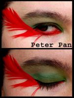 Makeup: Peter Pan by Didaverseend