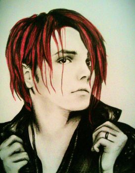 Gerard Way by duringthisoperation