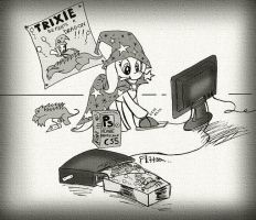 And that's how Trixie fools everypony by labba94