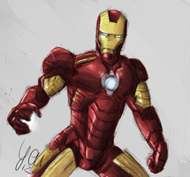 Iron Man by Yenvaloce