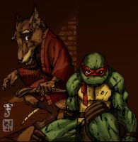 Raph Splinter by lroyburch