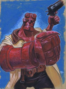 Hellboy by pauljholden