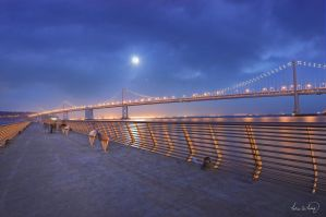 Bay Bridge by tt83x