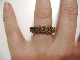 Chainmail half persian ring by Tannalein
