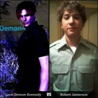 Robert Jamerson VS Leon Demon Kennedy by silverwolf900
