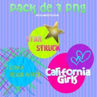 Pack de 3 Png's by shineditions