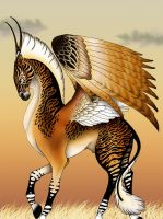 Ethiopian Pegasus Color by verreaux