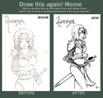 Draw this again Meme by Rod-Wolf