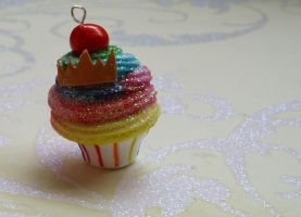 Matching Sparkle cupcake by PORGEcreations