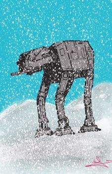 AT-AT Walker by djackwagner