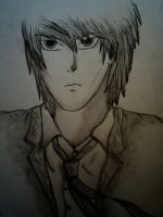 Light Yagami by H-Lawliet