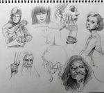 daily sketch 3601 by nosoart
