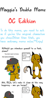 OC Double Meme: Evil and Roket by TailTehEeveelution
