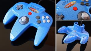 Custom Wave Race N64 controller by Zoki64