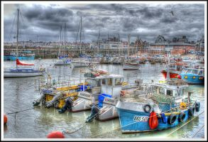 Bridlington Harbour... by TheBaldingOne