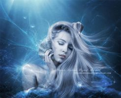Seashell Prayer by ThelemaDreamsArt