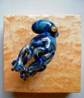 Glass Octopus, Wall Hanging Sculpture by cold-in-the-north