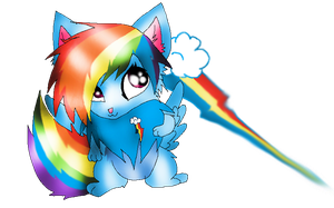 Rainbow Dash by XxsilvixX