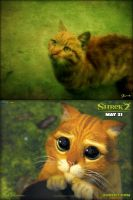SHREK CAT by ilovexueling